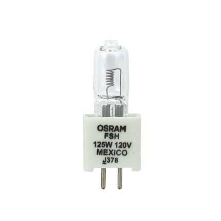 FSH OSRAM SYLVANIA 54436 125 Watt 120 Volt Tungsten Halogen Lamp
