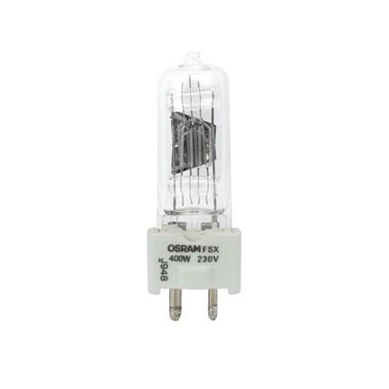 FSX/230 OSRAM SYLVIANIA 54897 400 Watt 230 Volt Tungsten Halogen Lamp