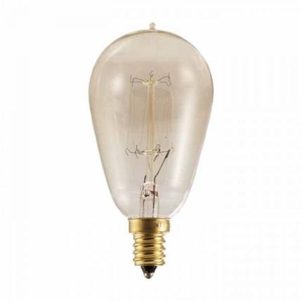 NOS25ST15/SQ/E12 Bulbrite 132510 25 Watt 120 Volt Incandescent Lamp