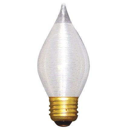 60C15S Bulbrite 431060 60 Watt 130 Volt Incandescent Lamp