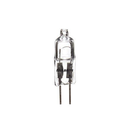 Q10G4/12 Bulbrite 650010 10 Watt 12 Volt Halogen Lamp