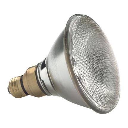 38PAR38H1500FL25 GE 69136 38 Watt 120 Volt Halogen Lamp