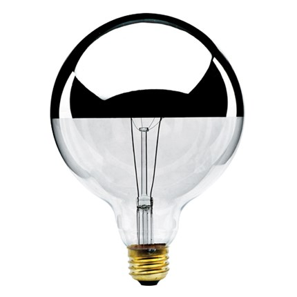 60G40HM Bulbrite 712356 60 Watt 120 Volt Incandescent Lamp