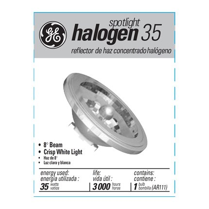 35AR111/SP8 GE 97532 (10 PACK) 35 Watt 12 Volt Halogen - AR Lamp