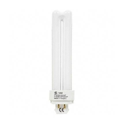 F18DBX/827/ECO4P GE 97598 (10 PACK) 18 Watt 100 Volt Compact Fluorescent - Plug-in Lamp