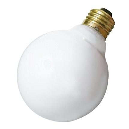 25G25/W Satco A3640 25 Watt 130 Volt Incandescent Lamp