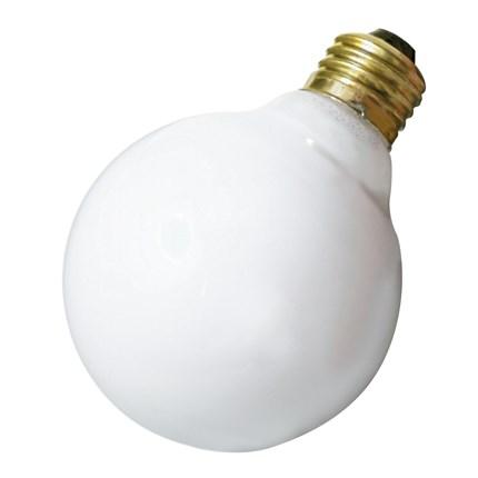 40G25/W Satco A3641 40 Watt 130 Volt Incandescent Lamp
