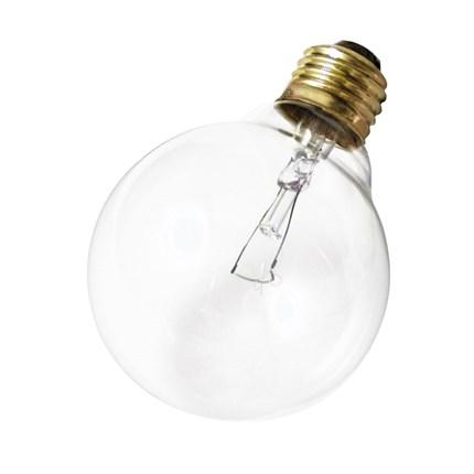 25G25 Satco A3647 25 Watt 130 Volt Incandescent Lamp