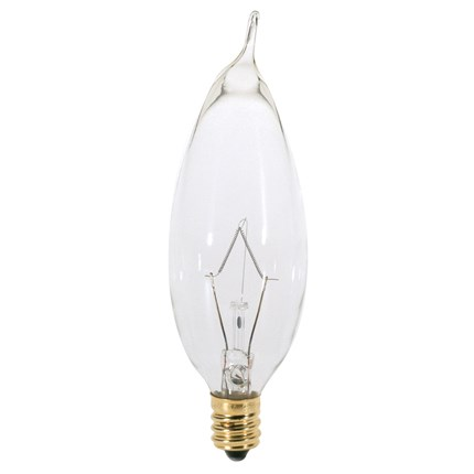 25CA8 Satco A3674 25 Watt 130 Volt Incandescent Lamp