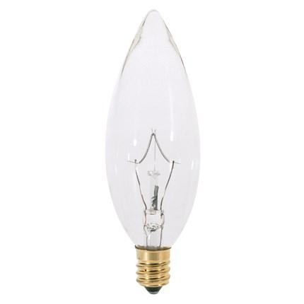 25BA9 1/2 Satco A3682 25 Watt 130 Volt Incandescent Lamp