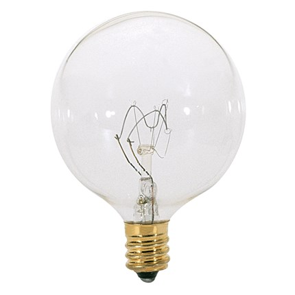 15G16 1/2 Satco A3921 15 Watt 130 Volt Incandescent Lamp