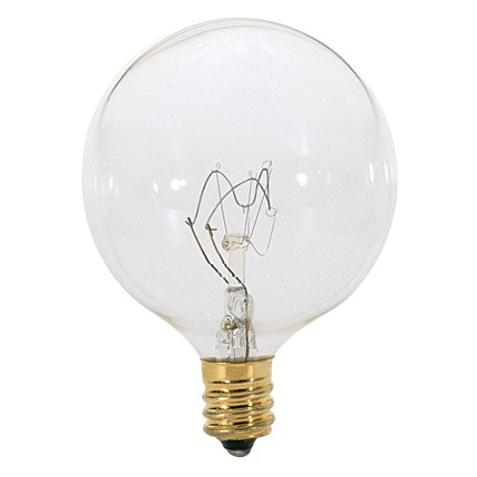40G16 1/2 Satco A3923 40 Watt 130 Volt Incandescent Lamp