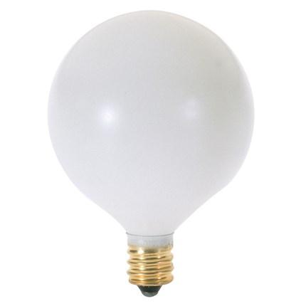 40G16 1/2/W Satco A3926 40 Watt 130 Volt Incandescent Lamp