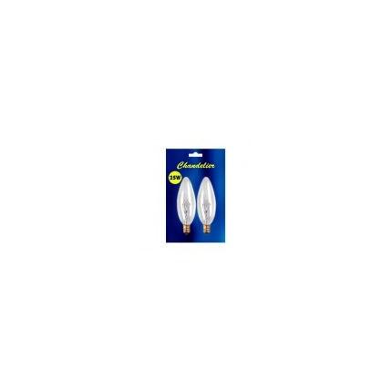 B25CTC (2 Pack) Bulbrite 480025 25 Watt 120 Volt Incandescent Lamp