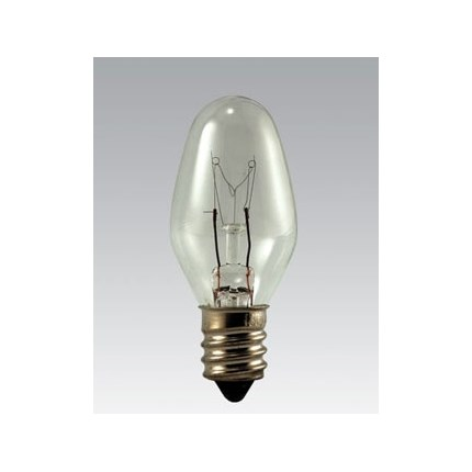 7C7 Eiko 40874 7 Watt 120 Volt Incandescent Lamp