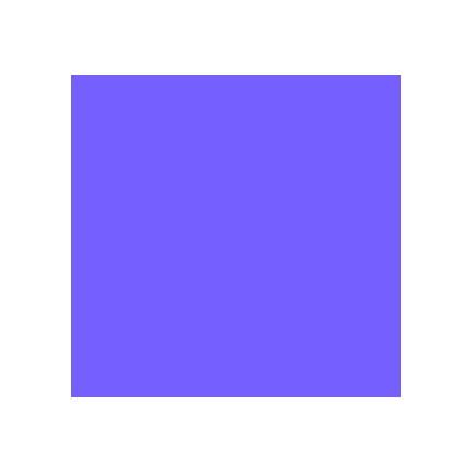 Rosco Cinegel R4260 CalColor 60 Blue 20