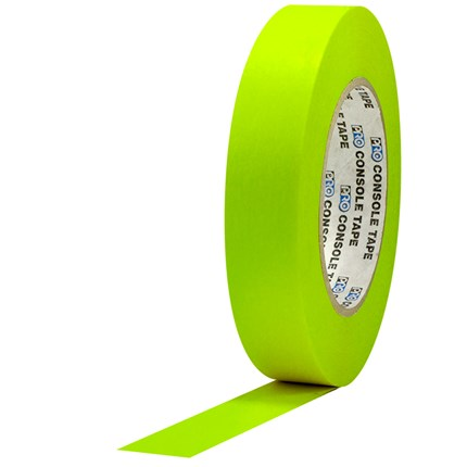 1C160MFLYEL Pro Console 1x60yds Fluorescent Yellow Paper