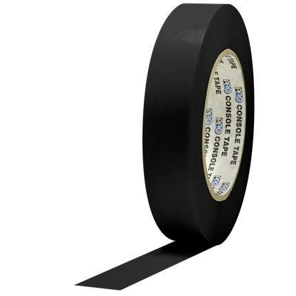 1C160MBLA Pro Console 1x60yds Black Flatback Paper