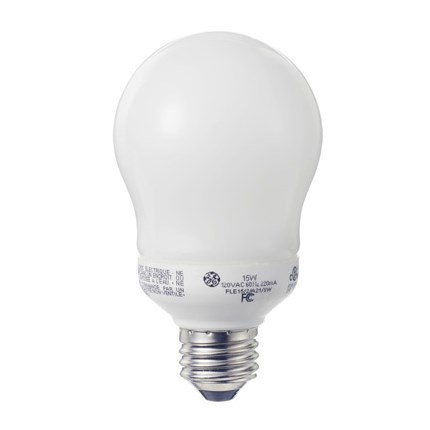 FLE11/2/A17XL/CD GE 47486 11 Watt 120 Volt Compact Fluorescent - Self-Ballasted Lamp
