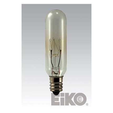 15T6C Eiko 43002 15 Watt 145 Volt Incandescent Lamp
