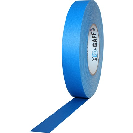 1UPCG155MELEBLU Pro Gaff 1x55yds Elec Blue Cloth TapeUPC (case of 48)