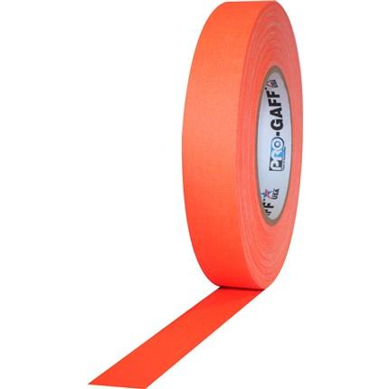 1UPCG150MFLORA Pro Gaff 1x50yds fluorescent Orange Tape UPC