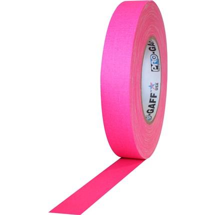1UPCG150MFLPIN Pro Gaff 1x50yds Fluorescent Pink Tape UPC