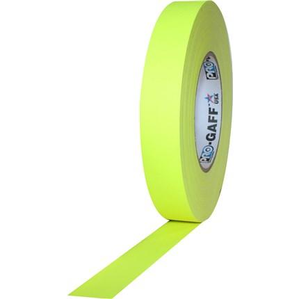 1UPCG150MFLYEL Pro Gaff 1x50yds fluorescent Yellow Tape UPC