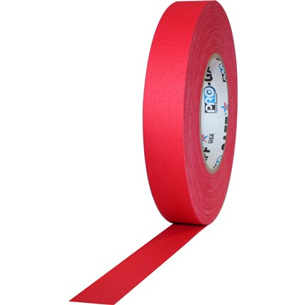 1UPCG155MRED Pro Gaff 1x55yds Red Cloth Tape UPC (case of 48)