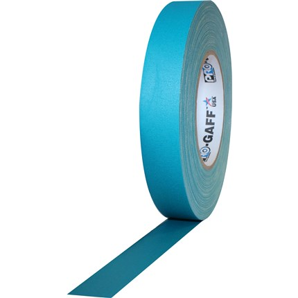 1UPCG155MTEAL Pro Gaff 1x55yds Teal Cloth Tape UPC (case of 48)