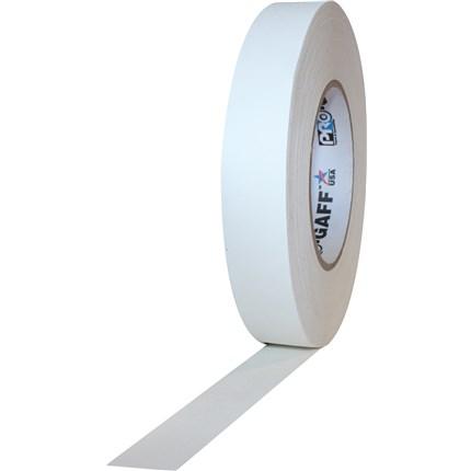1UPCG155MWHT Pro Gaff 1x55yds White Cloth Tape UPC