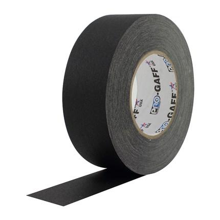 1UPCG255MBLA Pro Gaff 2x55yds Black Cloth Tape UPC