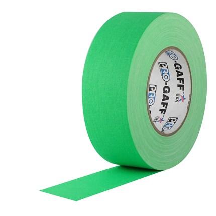1UPCG250MFLGRN Pro Gaff 2x50yds fluorescent Green Cloth UPC