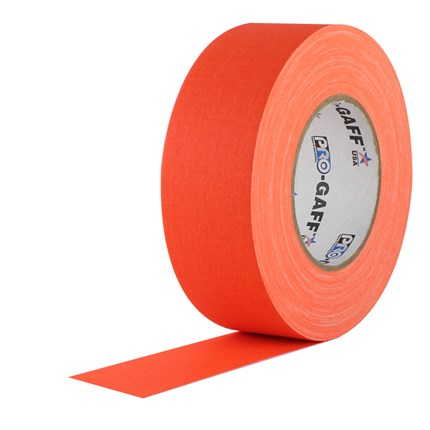 1UPCG250MFLORA Pro Gaff 2x50yds fluorescent Orange Cloth UPC