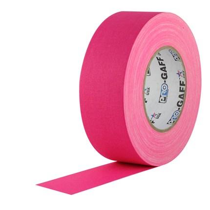 1UPCG250MFLPIN Pro Gaff 2x50yds Fluorescent Pink Cloth UPC