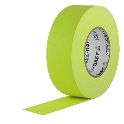 1UPCG250MFLYEL Pro Gaff 2x50yds Fluorescent Yellow Cloth UPC