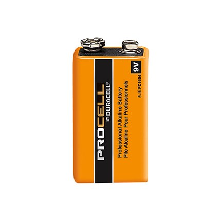 PC1604 9 Volt Duracell Procell Alkaline Battery