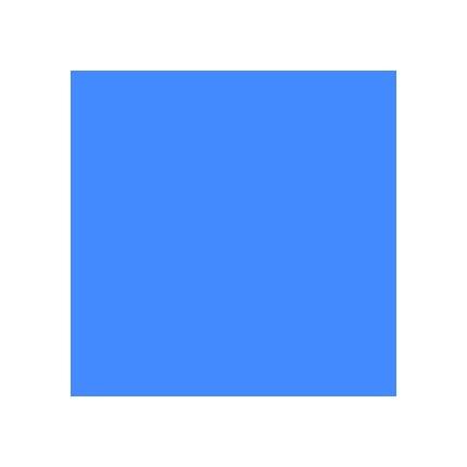 Rosco Roscolux R368 Winkler Blue 20