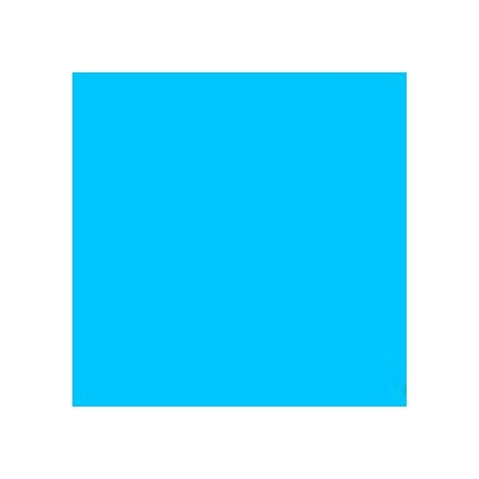 Rosco Roscolux R369 Tahitian Blue 20