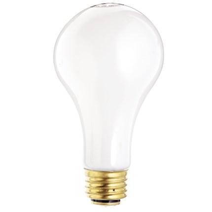 50/250A21/W Satco S1823 50/200/250 Watt 120 Volt Incandescent Lamp