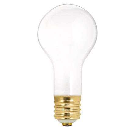50/150PS25/F Satco S1825 50/100/150 Watt 120 Volt Incandescent Lamp
