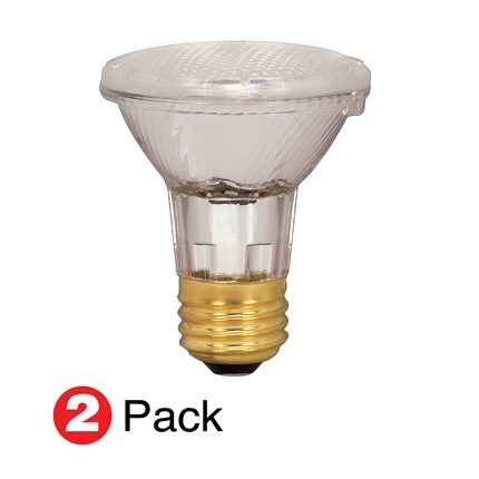 39PAR20/HAL/XEN/NFL (2 Pack) Satco S2267 39 Watt 120 Volt Xenon - Halogen Lamp