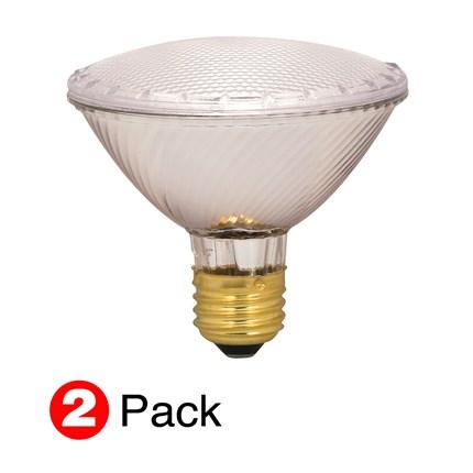 60PAR30/HAL/XEN/NFL/ (2 Pack) Satco S2268 60 Watt 120 Volt Halogen Lamp