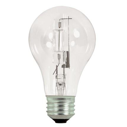 29A19/HAL/ES/CL (2 Pack) Satco S2401 29 Watt 120 Volt Halogen Lamp