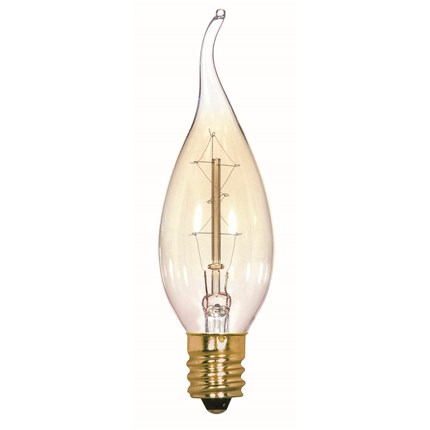 25CFC/7S/120V/Vintage Satco S2418 25 Watt 120 Volt Incandescent Lamp
