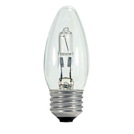 43ETC/HAL/E26/CD Satco S2443 43 Watt 120 Volt Halogen Lamp