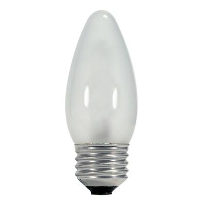 43ETW/HAL/E26/CD Satco S2445 43 Watt 120 Volt Halogen Lamp