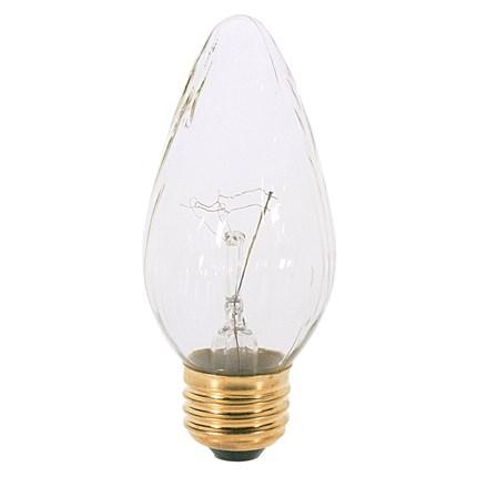 25F15/W Satco S2764 25 Watt 120 Volt Incandescent Lamp
