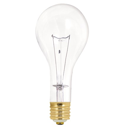 500PS35/CL Satco S3015 500 Watt 130 Volt Incandescent Lamp