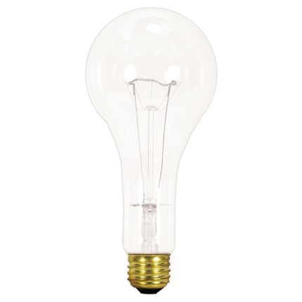 150PS25/TF Satco S3017 150 Watt 130 Volt Incandescent Lamp